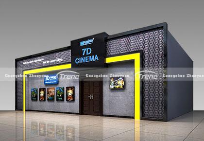 7D интерактивный кинотеатр