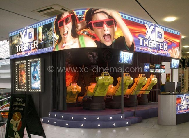 Xindy 7D Cinema Parse the Difference of 3D/4D/5D/6D Cinema