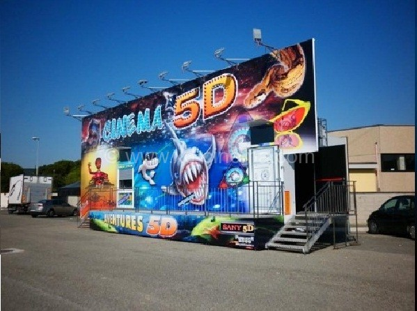 Do You Know the 5D truck Mobile Cinema