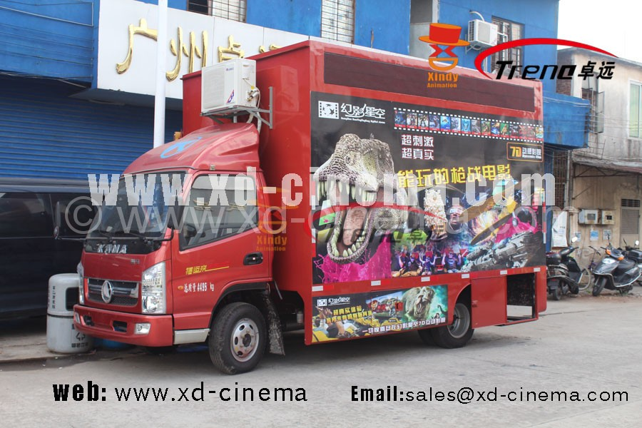 truck mobile 5d cinema