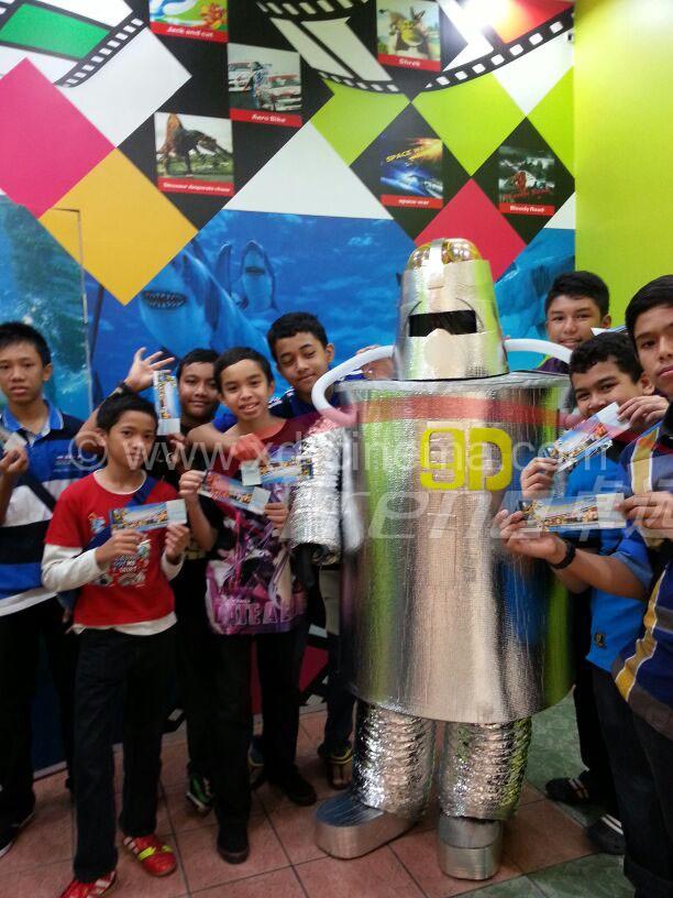 9D CINEMA in Malaysia
