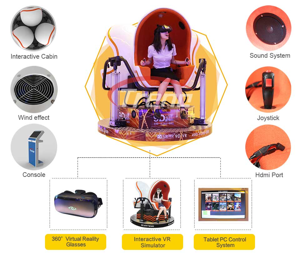 9D VR simulator