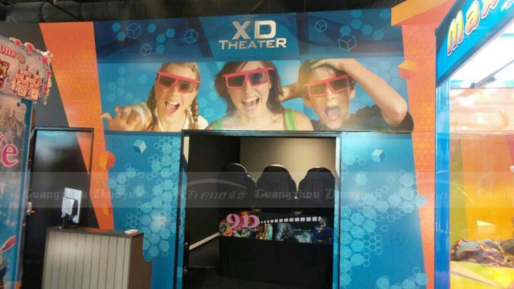 zhuoyuan xd 7d cinema