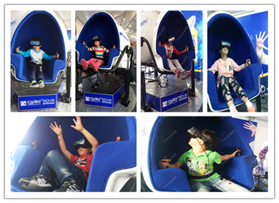 Zhuoyuan 9D virtual reality applications shine brilliantly in West Lake Expo 3