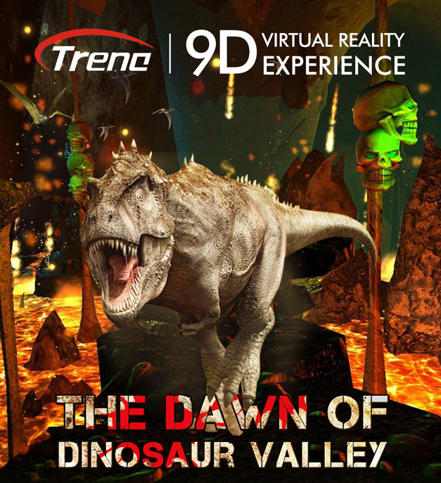 9d vr movie THE DAWN OF DINOSAUR VALLEY