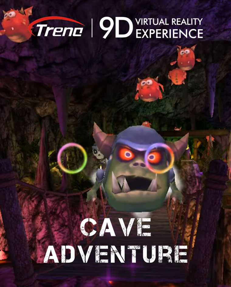 CAVE ADVENTURE-9d vr movie