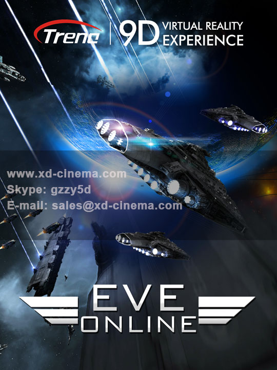 Eve Online-9d virtual reality movie