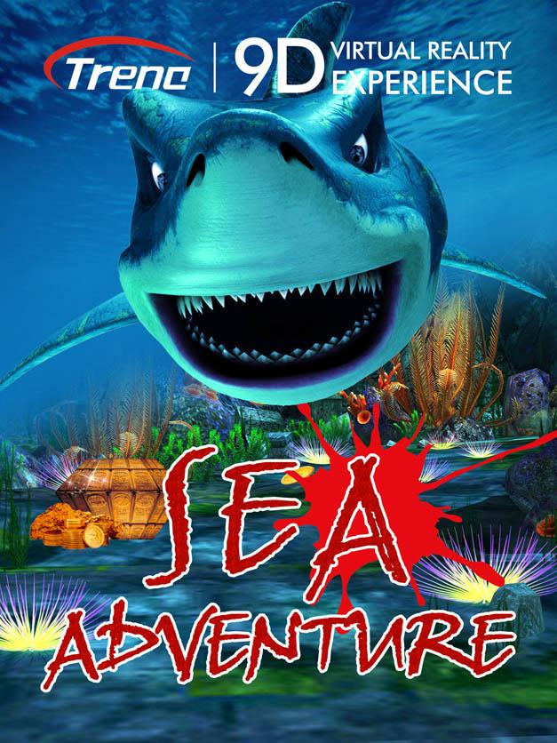 SEA ADVERTURE 9d vr movie