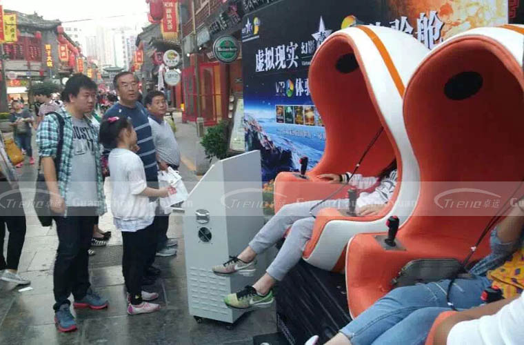 Zhuoyuan hot sale 9d virtual reality in pedestrian street (2)