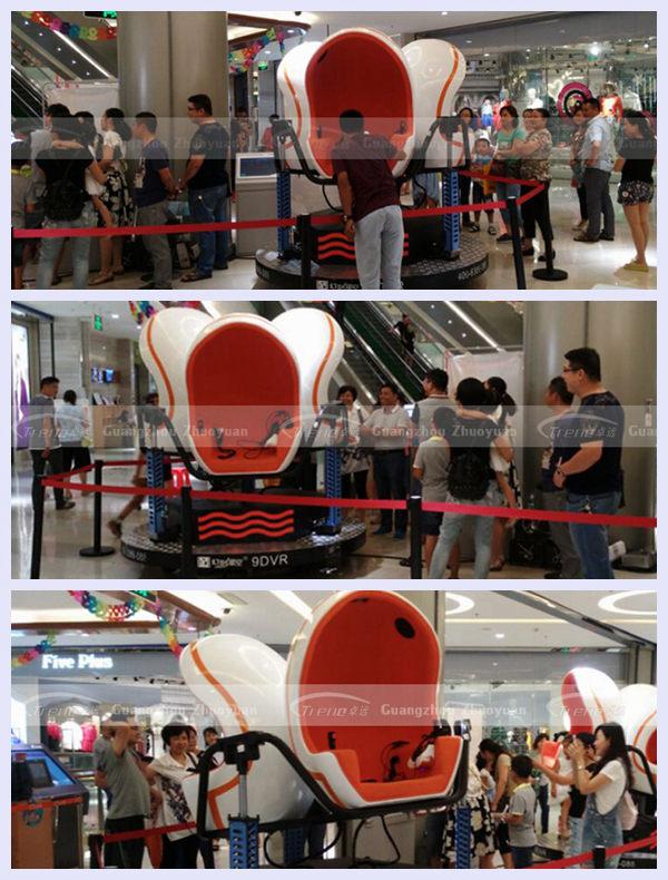 Zhuoyuan hot interactive vr glasses virtual reality 9D cinema
