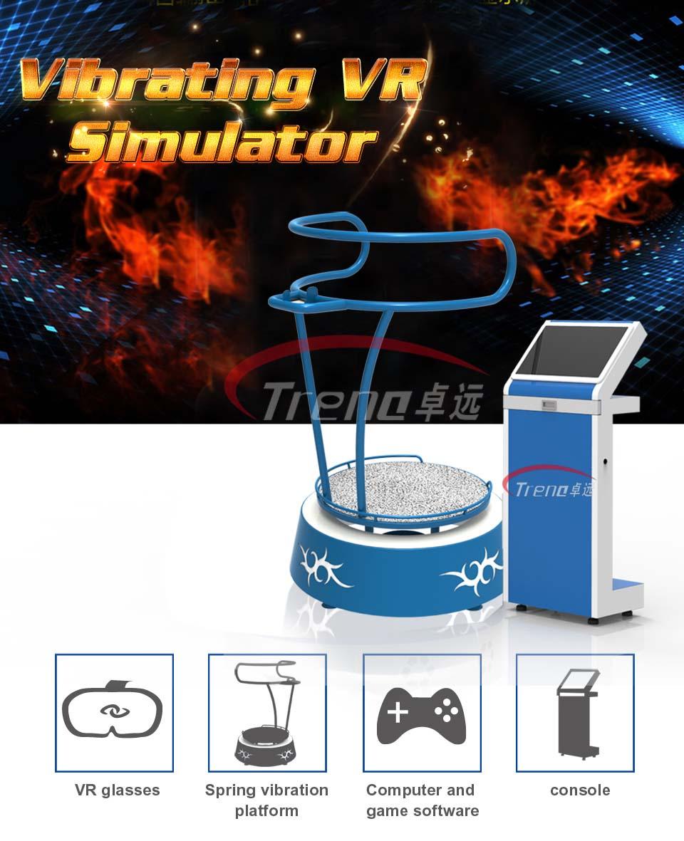 Vibrating VR equipment