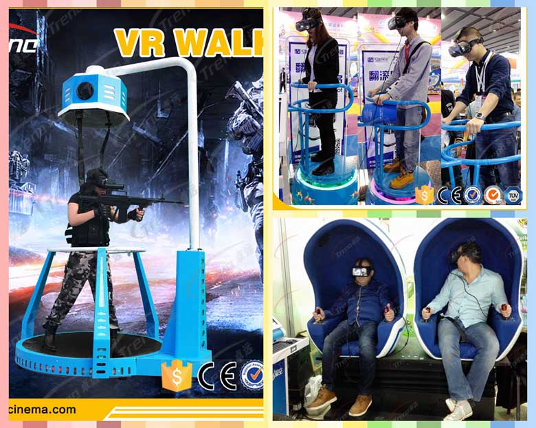 Zhuoyuan VR Walker will meet you in Global Sources Electronics