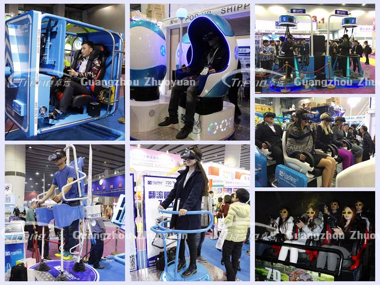 Zhuoyuan popular virtual reality simulator will be shown in the 119th Canton Fair 1