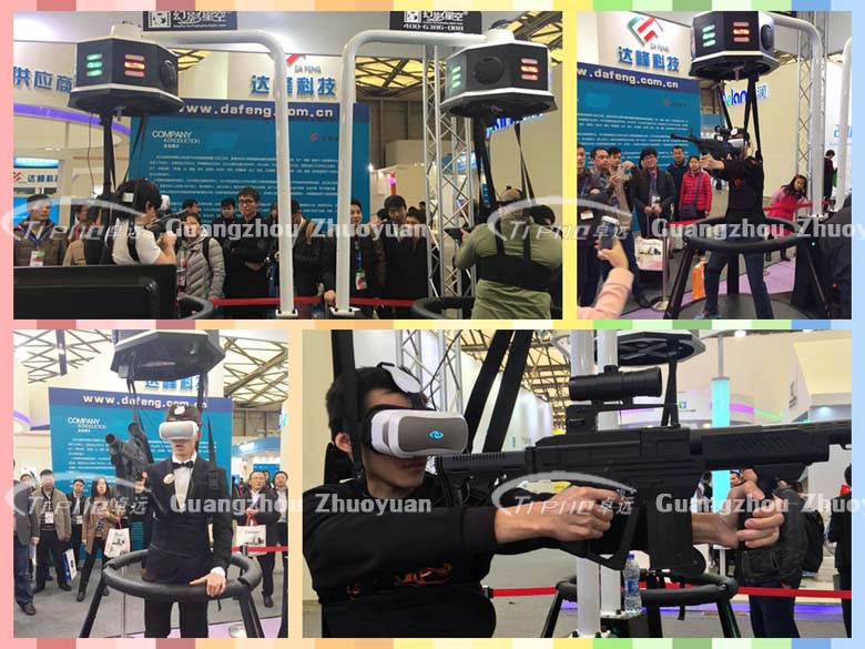 Zhuoyuan virtual reality applications had a good show in AAA Expo and AWE Expo 1