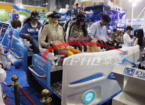 Six-seat 9D VR Simulator