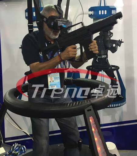 VR Treadmill and Vibrating VR simulator (1)