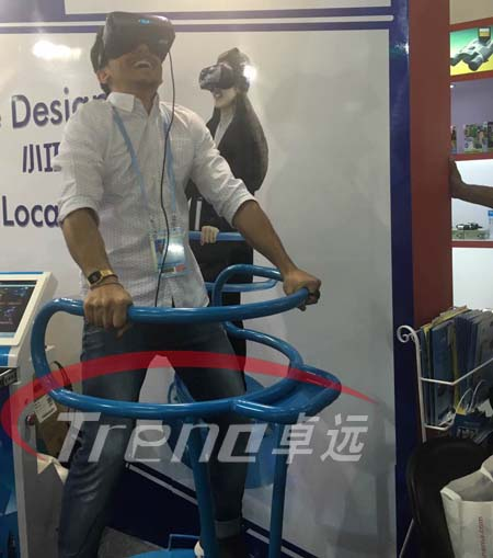 VR Treadmill and Vibrating VR simulator bring you an incomparable experience 8