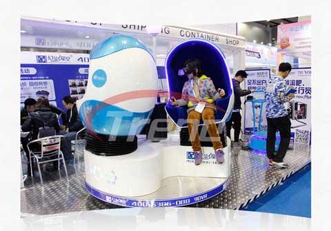 Zhoyuan Virtual Reality Simulator Three-seat 9D VR Simulator (3)