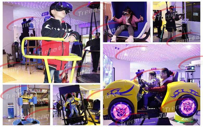Zhuoyuan high-tech vr simulators in public service activities (2)