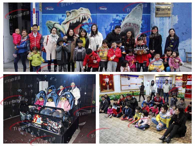 Zhuoyuan high-tech vr simulators in public service activities (3)