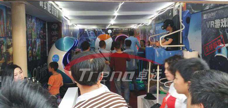Zhuoyuan high profitable VR products experience pavilion in Taiwan 1