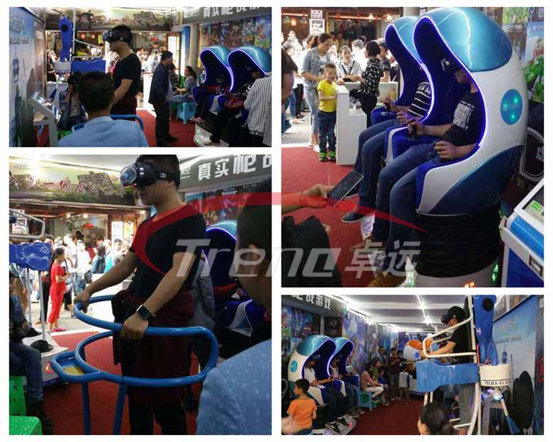 Zhuoyuan high profitable VR products experience pavilion in Taiwan