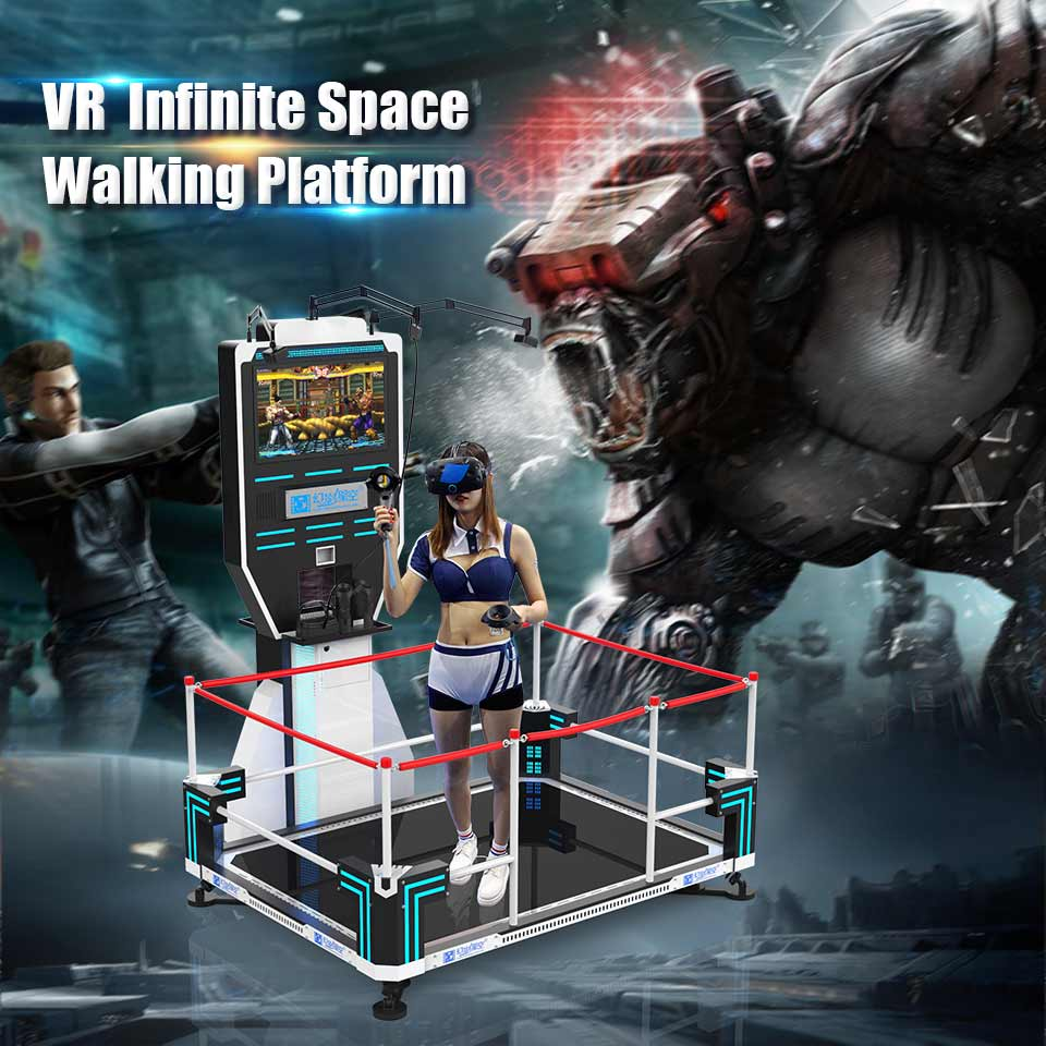 VR-Infinite-Space-Walking-Platform