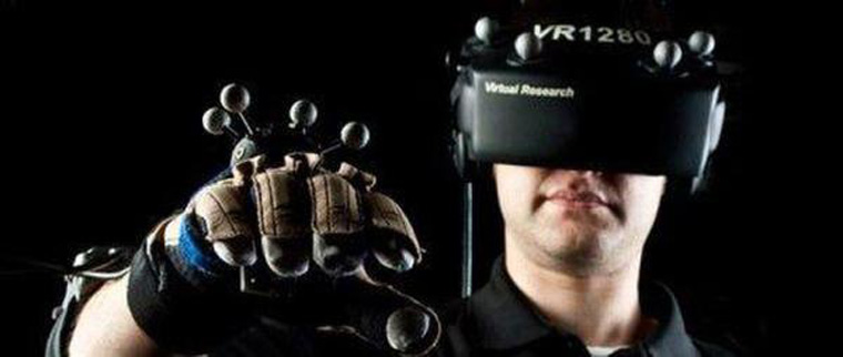 development-foreground-of-virtual-reality-simulator