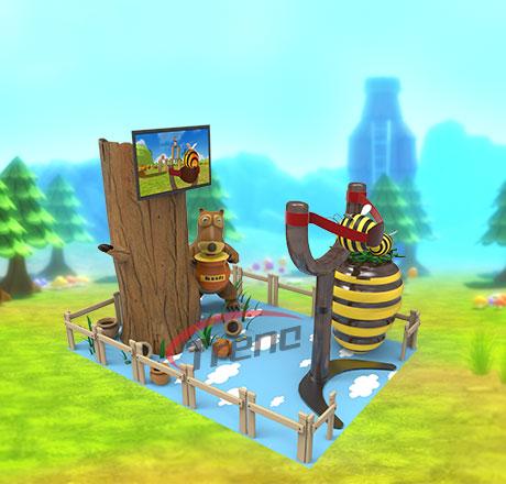 Zhuoyuan VR Machine Virtual Reality Angry Bee Simulator (3)