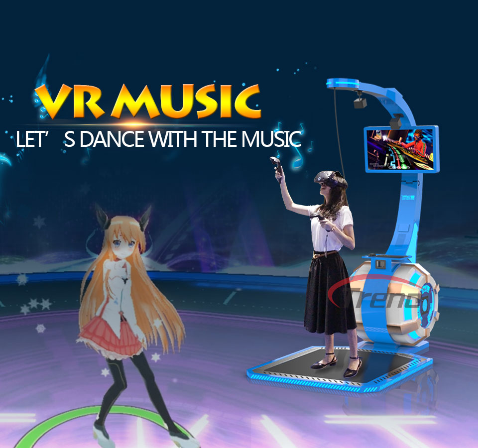 Zhuoyuan Virtual Reality Equipment VR Music Simulator (1)