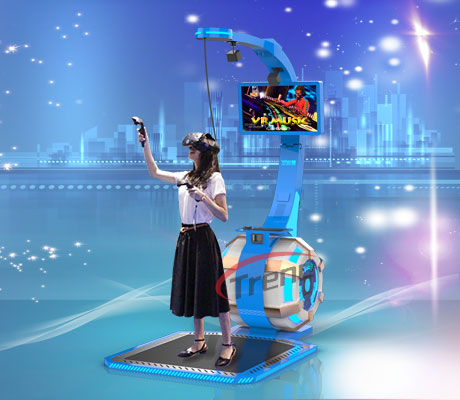 Zhuoyuan Virtual Reality Equipment VR Music Simulator (3)