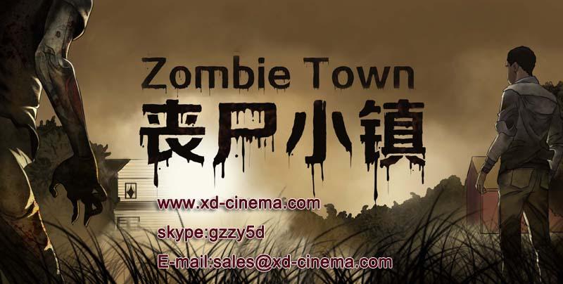 Zombie town promo