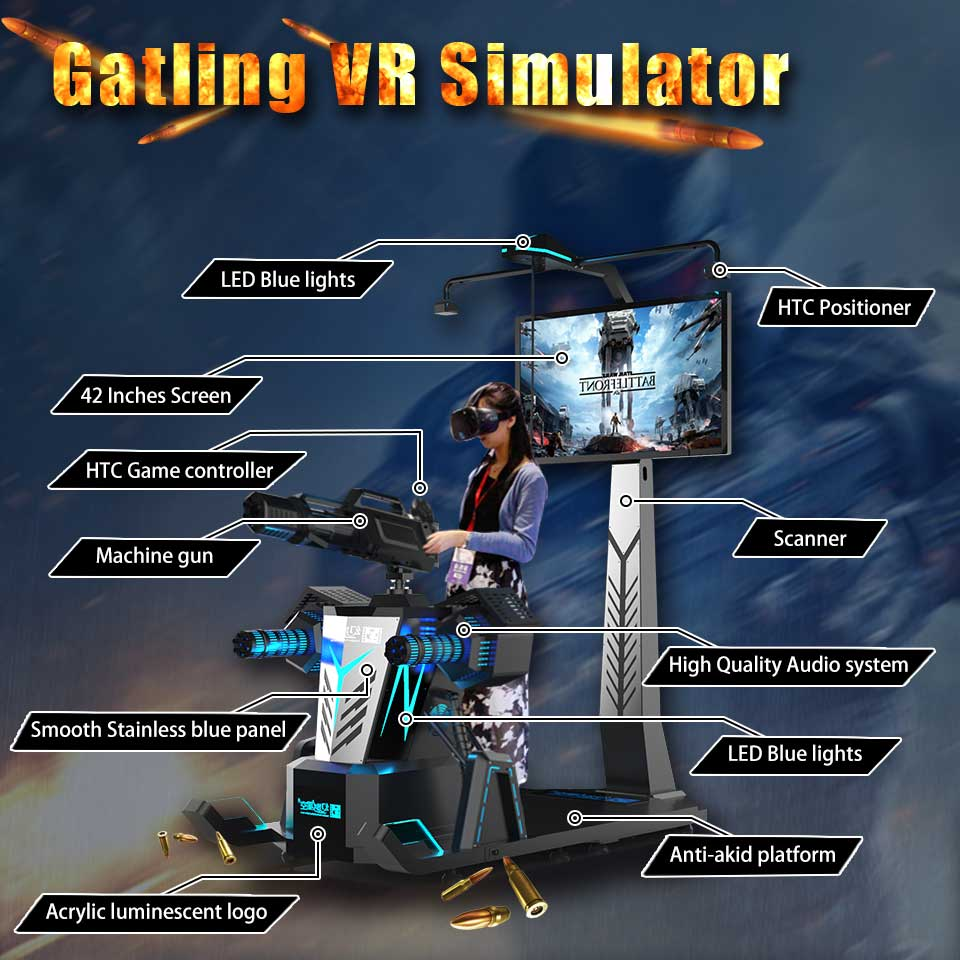 gatling vr simulator1d