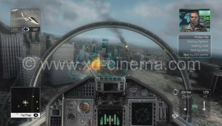 Zhuoyuan 720 Degree Flight Simulator with Flight Game