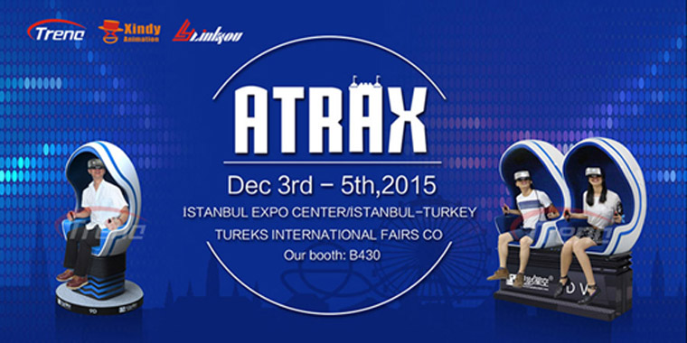 Virtual reality are waiting for you in Turkey