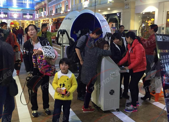 Zhuoyuan most attractive virtual reality products in shopping center