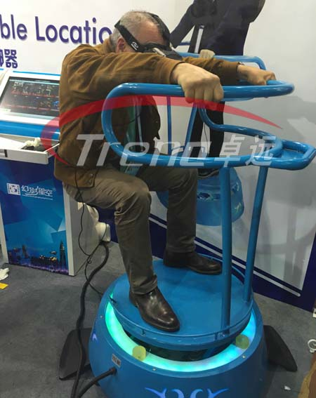 VR Treadmill and Vibrating VR simulator bring you an incomparable experience 10