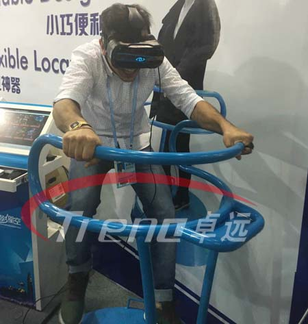 VR Treadmill and Vibrating VR simulator bring you an incomparable experience 6