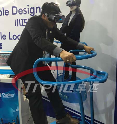 VR Treadmill and Vibrating VR simulator bring you an incomparable experience 7