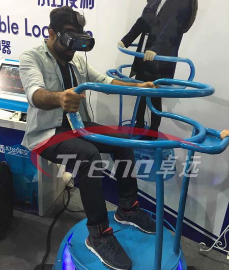 VR Treadmill and Vibrating VR simulator bring you an incomparable experience 9