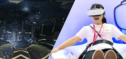 FuninVR game machine vr reality vr slide dynamic vr flight simulator
