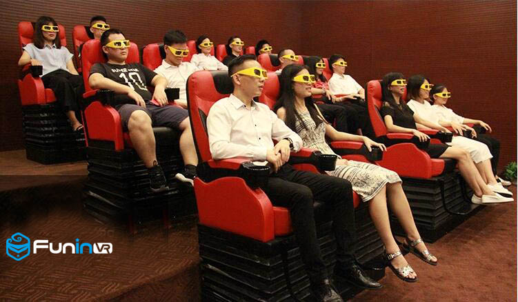 Interactive Experience Home Cinema Motion Seat 3D 4D 5D 7D Cinema for sale
