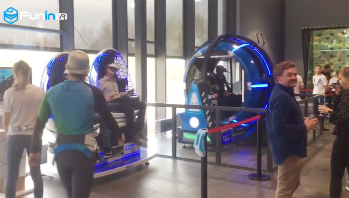 9D VR Simulator Arcade Machines new small business idea in Norway