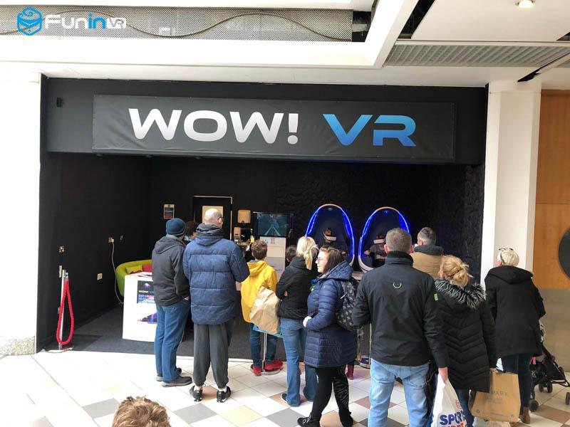 Linkyou 9D VR Cinema Virtual Reality Simulator VR Chair Egg