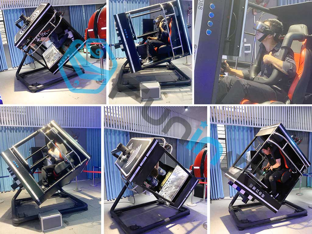 Zhuoyuan 720 Degree Flight VR Simulator with Flight Game